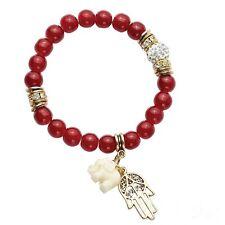 "Park Lane ""ROUGE"" Bracelet Red w/Austrian Crystals & Charms   Reg. $45"