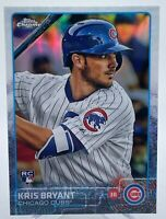 Kris Bryant 2015 Topps Chrome Refractor Rookie Card #112 CUBS HOT