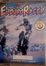 ENDURO RACER (C 64) Commodore c64 tape (cassetta, imballaggio, manual) 100% OK