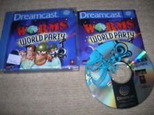 WORMS WORLD PARTY - Rare Boxed Sega Dreamcast Game
