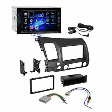 JVC Car Radio Stereo Double DIN Dash Kit Wire Harness for 2006-2011 Honda Civic