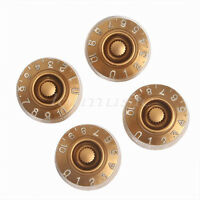 4pcs Electric Guitar Speed Control Knobs For Gibson Les Paul replacement