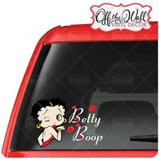 Betty Boop Color Vinyl Car, Truck, Laptop, Netbook, Tablet, Decal Sticker