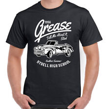 Grease T-Shirt T-Birds Rydell High School Mens Funny Movie Stag Doo