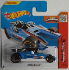 HOT Wheels-HONDA Racer Blu/Bianco Nuovo/Scatola Originale