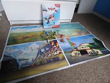 """Disney My Busy Books Storybook """"Planes"""" Includes Playmat With Accessories 3+"""