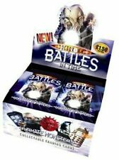 Doctor Who Battles in Time Ultimate Monsters Trading Cards Two Packets
