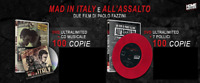 Mad In Italy + All'Assalto - Limited (Paolo Fazzini - 2 DVD + CD + Vinile)