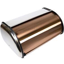 ADDIS rame acciaio inossidabile cestino di pane piano cucina Crock Contenitore Di Stoccaggio