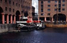 PHOTO  2004 BIRKENHEAD STEAM TUGS CHALLENGE AND KERNE CHALLENGE WAS IN STEAM BUT