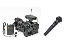 Pro D5600 WLM H wireless lavalier + hand mic for Nikon D5500 D5400 D5300 D5200