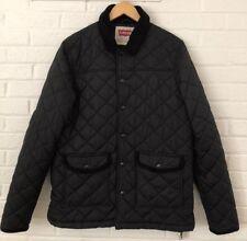 Levi's Black Quilted Lightweight Coat Jacket Men - Size Large