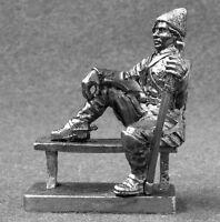 Russian Civil War Nestor Makhno 1/32 Miniature Action Figure Toy Soldiers 54mm