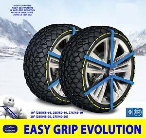 Catene da Neve Suv Bmw X3 Auto Omologate Universali ruote 275 40 20 cerchi kit