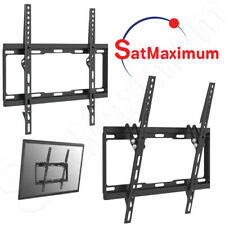 "Adjustable Tilt and Fixed TV Wall Mount Bracket for 32 - 55"" Flat Screen TV"