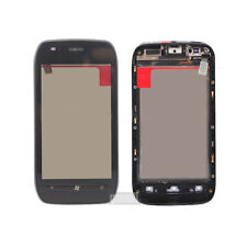 Front Touch Screen Digitizer Glass + Frame Replacement For Nokia Lumia 710 N710