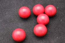 (1) Red Turquoise Mineral Marble Sphere 15-16mm (LISTING IS FOR 1 SPHERE!)