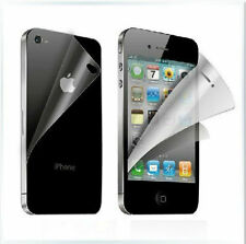 4 FRONT + 2 BACK Brand Screen Protectors Protect for Apple iphone 4 / 4S / 4GS