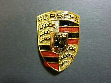 Original Porsche-Fahrrad Wappen (Messing)