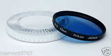 GENUINE NIKON 52mm B12 FILTER with CP-3 CASE!! EXCELLENT PLUS CONDITION!!