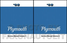 1968 Plymouth Shop Manual 68 Barracuda Valiant Fury Sport VIP Repair Service