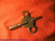 AMERICAN CLOCKS DOUBLE END BRASS KEYS  VARIOUS SIZES SEE LISTING FOR SIZE INFO