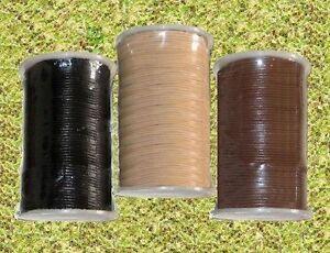 Lederband Lederbänder Lederschnur Lederriemen Ziegenleder 50 Meter Rolle 3 mm