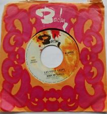 EDDY MITCHELL L'accident / Les vieux loups CANADA ORIG 1970 FRENCH SOUL 45