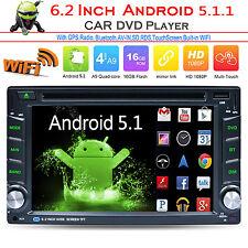 """6.5"""" Quad Core Android 5.1 GPS Voiture Radio Stéréo Lecteur de DVD 2 DIN 3G wifi"""