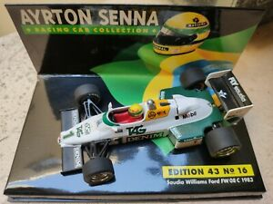1/43 Senna Saudia Williams 1983 Lang