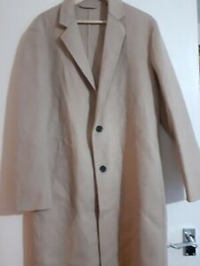 All Saints Hanson Light Camel Coat Size XS retails £349 New with tags
