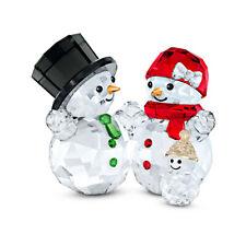 Swarovski Snowman Family 5533948 New 2020