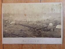 "Brady "" Incidents of the War "" 96th Penn Vols. Camp Fairfax Co Va March 1st 1862"