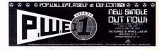 "16/7/88pg16 Single Advert 3x10"" Pop Will Eat Itself, Def.con One"