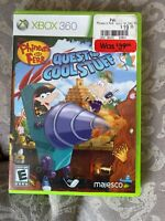 Phineas and Ferb: Quest for Cool Stuff (Microsoft Xbox 360, 2013)