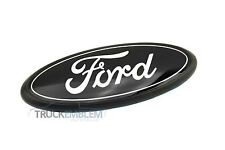 "1 NEW CUSTOM BLACK AND WHITE 05-10 F250, F350, F450 9"" SUPER DUTY GRILL EMBLEM"