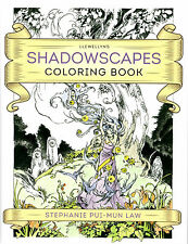 Llewellyn's Shadowscapes Coloring Book by Stephanie Pui-Mun Law 2016, Paperback