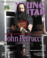 Japanese Rock Music Magazine Young Guitar  March 2019 John Petrucci DreamTheater