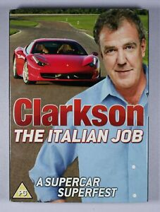 Clarkson The Italian Job DVD R2 FREE POST