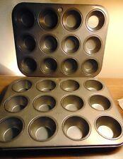 Ekco – Lot of 2 Mini-Muffin Cupcake Pans – 12 Cups Each