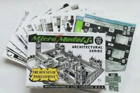 Micromodels THE HOUSES OF PARLIAMENT SET ARC XIX Micro New Models card model kit