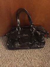Coach Ashley Shoulder Patent Leather Satchel Shoulder Bag F20460