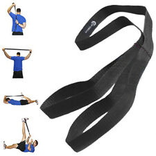 Nylon Athletic Stretching Strap Promotes Flexibility for All Athletes & Fitness