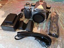 Pentax KP Digital SLR Camera - Silver