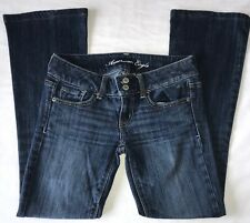 American Eagle Women's Size 2 Short Court Stretch Artist Double Button Jeans