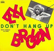 Elly Brown ~ Don't Hang Up >Vinyl Maxi-Single 45rpm 1984 Italo-Disco