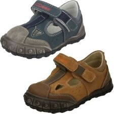Synthetic Casual Shoes for Boys with Hook & Loop Fasteners