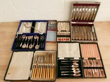 Job Lot Of SIlver Plate Cutlery In Presentation Boxes (Hospiscare)