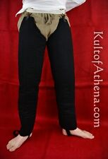 Padded Chausses - Black Medieval Armor