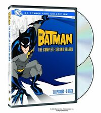 BATMAN the complete second season series 2. Animated. UK compatible. New DVD.